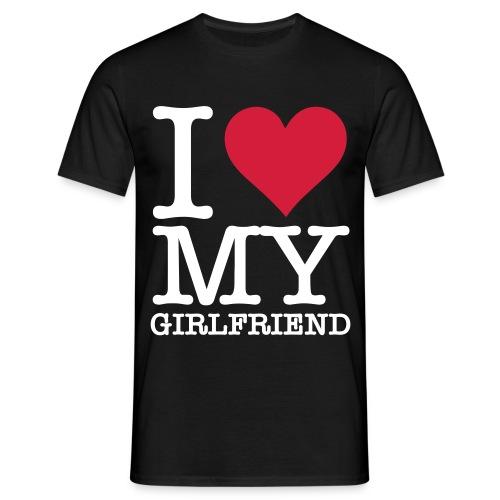 I love my G!rlfriend - Männer T-Shirt