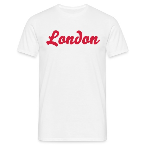 London Handwriting T-Shirt - Men's T-Shirt