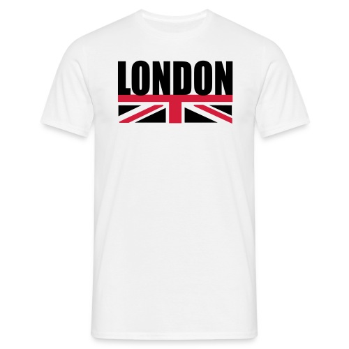 London Union Jack Carpet T-Shirt - Men's T-Shirt