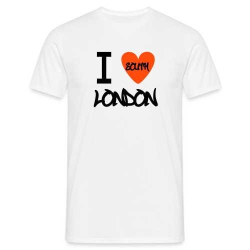 I Love South London T-Shirt - Men's T-Shirt
