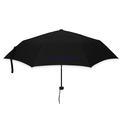 Umbrella I love rain - Umbrella (small)