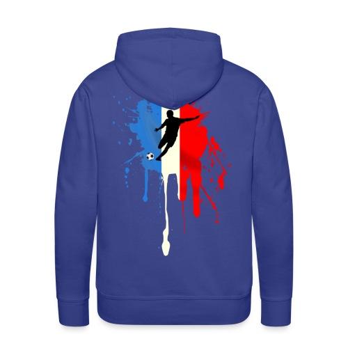 Football France Sweatshirt - Men's Premium Hoodie