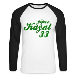 Yipee Kayal - Men's Long Sleeve Baseball T-Shirt