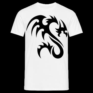 tribal dragon T-Shirts