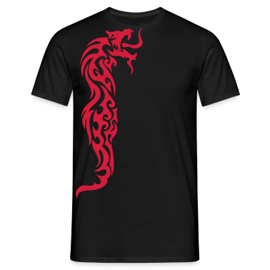 tribal dragon T-Shirts