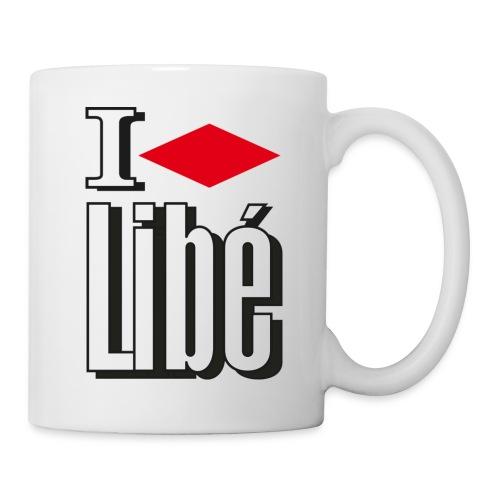 Mug I Love Libé - Mug blanc