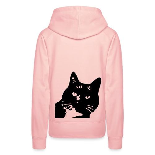 Kapuzenpullover Katze - Frauen Premium Hoodie