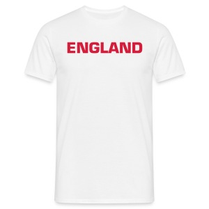 England Red Text - Men's T-Shirt