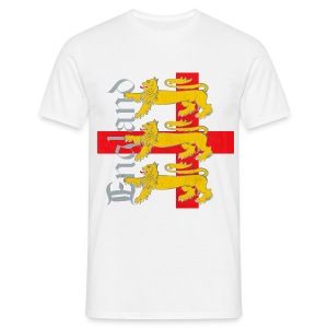 England Three Lions - Men's T-Shirt