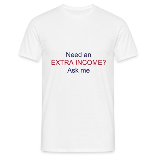 2nd Income - Men's T-Shirt