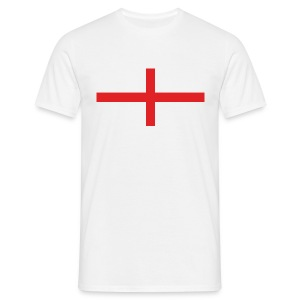 England Flag Large - Men's T-Shirt