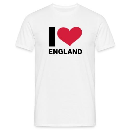 I Love England - Men's T-Shirt