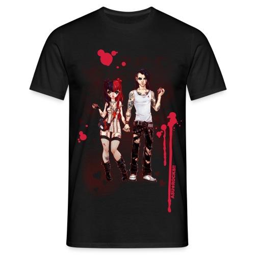 LOVE IS PAIN black men's - Männer T-Shirt