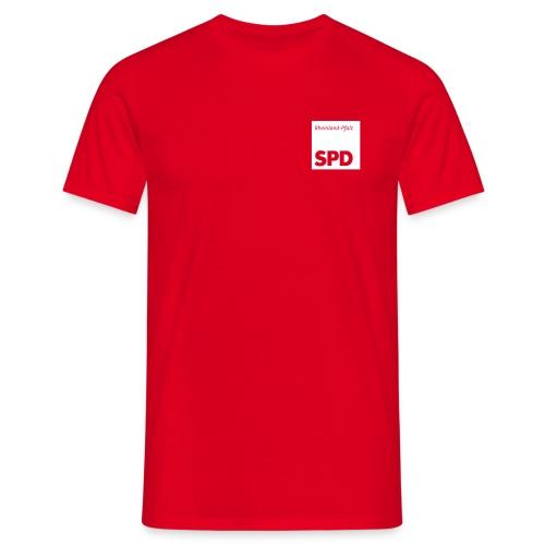 SPD Rheinland-Pfalz Shirt - Männer T-Shirt