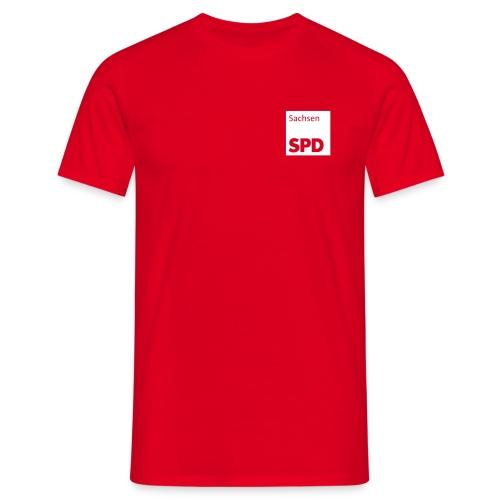 SPD Sachsen Shirt - Männer T-Shirt