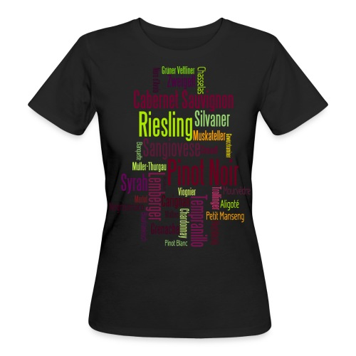 Any colour you like - Rebsorten - Frauen Bio-T-Shirt