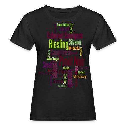 Any colour you like - Rebsorten - Frauen Bio-T-Shirt