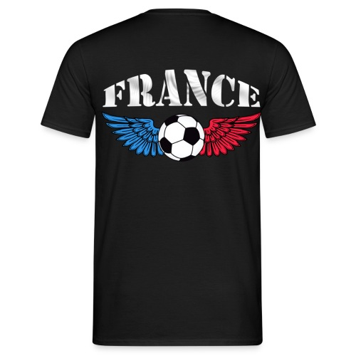 t-shirt football couleurs france - Men's T-Shirt
