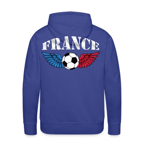 Sweatshirt football couleurs france - Men's Premium Hoodie