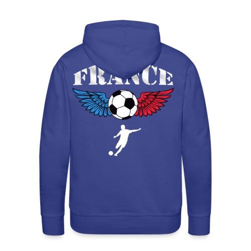 Sweatshirt football couleurs france - Men's Premium Hoodie