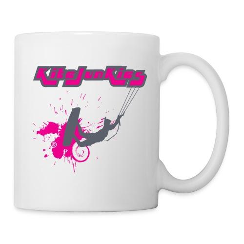 Kite Junkies Ladies Fushia Mug - Mug