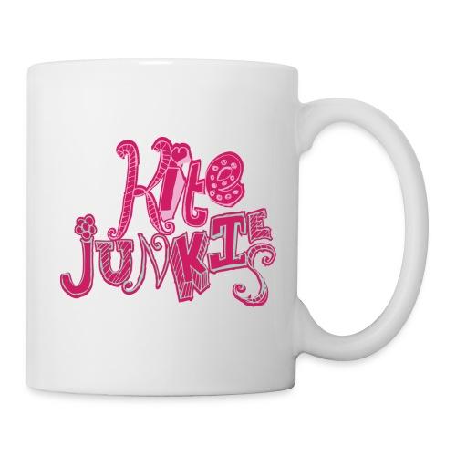 Kite Junkies Ladies Pink Mug - Mug