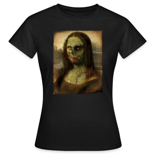 Camiseta Mona Lisa Zombie (chica) - Camiseta mujer
