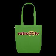 Taschen & Rucksäcke ~ Bio-Stoffbeutel ~ retro-tv Stoff-Tasche