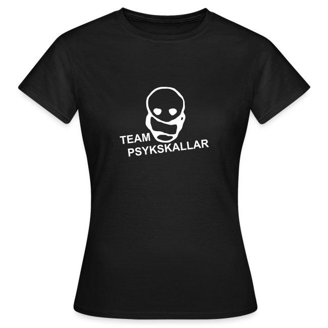 Team Psykskallar T-shirt (Woman)