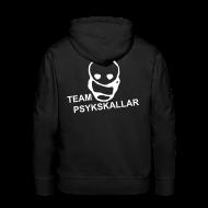 Hoodies & Sweatshirts ~ Men's Premium Hoodie ~ Team Psykskallar Hoodie (Logo back)