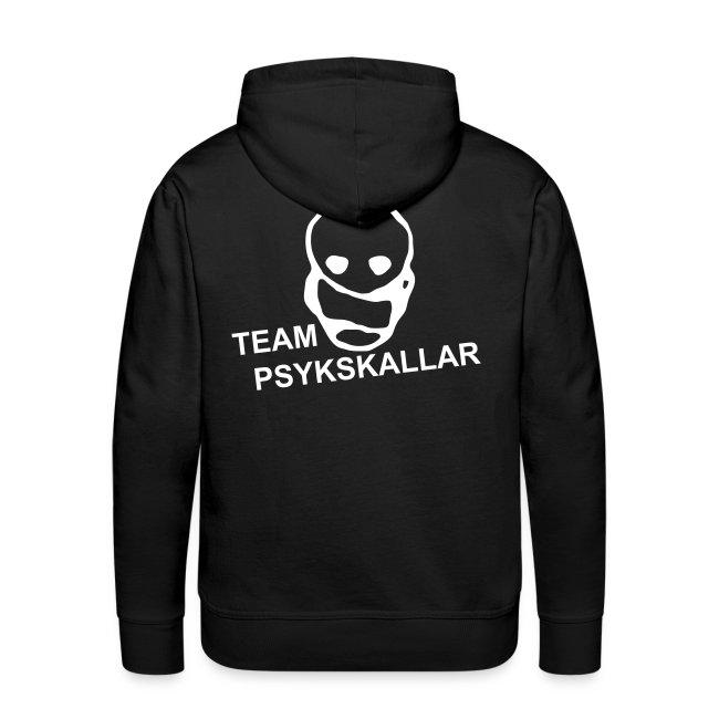 Team Psykskallar Hoodie (Logo back)