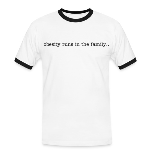 Obesity - Men's Ringer Shirt