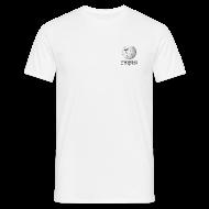 Tee shirts ~ Tee shirt Homme ~ Wikipédia poitrine Blanc/Cendre