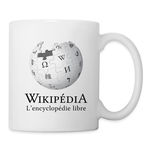 Tasse Wikipédia - Mug blanc