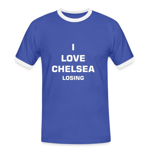 I Love Chelsea Losing - Men's Ringer Shirt
