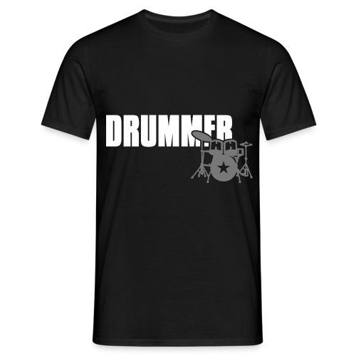 TGC - T-shirt DRUMMER Black - Maglietta da uomo