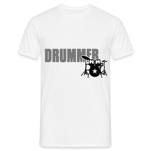 TGC - T-shirt DRUMMER White - Maglietta da uomo