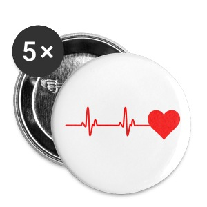 Heartbeat - Buttons large 56 mm