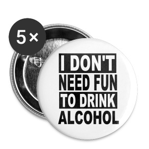 Alcohol - Buttons large 56 mm