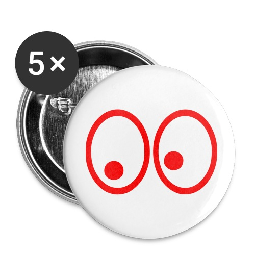 Eyes - Buttons large 2.2''/56 mm(5-pack)