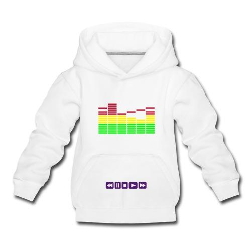 DJ Equalizer - Various Colours - Kids' Premium Hoodie