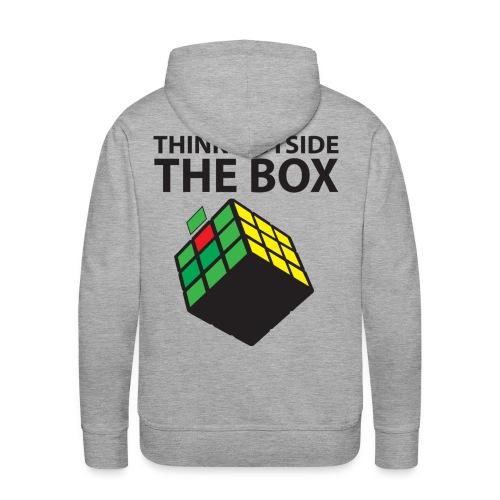 Think Outside the box - Premiumluvtröja herr