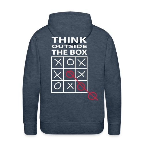 Think outside the box - Premiumluvtröja herr