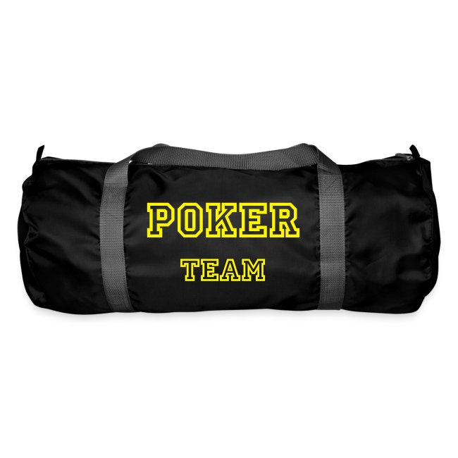 Sac de sport Poker Team