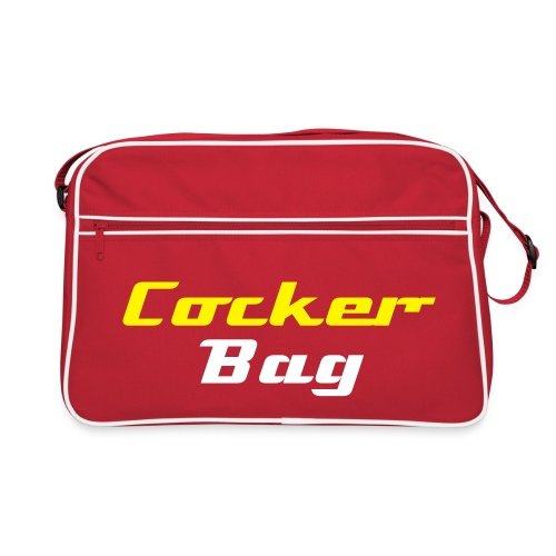 Cocker Bag (gelb) - Retro Tasche