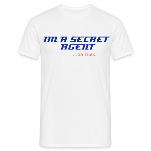 secret agent O.F - Men's T-Shirt