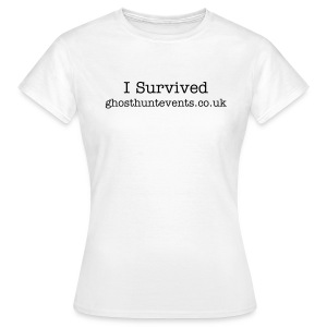 Womens Classic T I survived - Women's T-Shirt