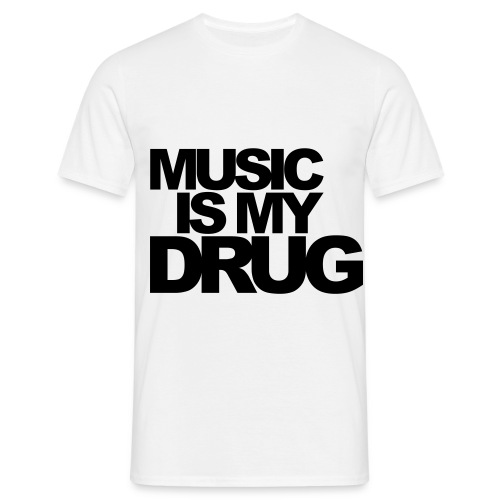 Music Drugger - Männer T-Shirt