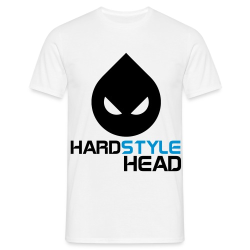 Harstyle Head. - Männer T-Shirt