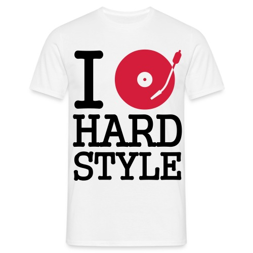 I Play Music Hardstyle. - Männer T-Shirt